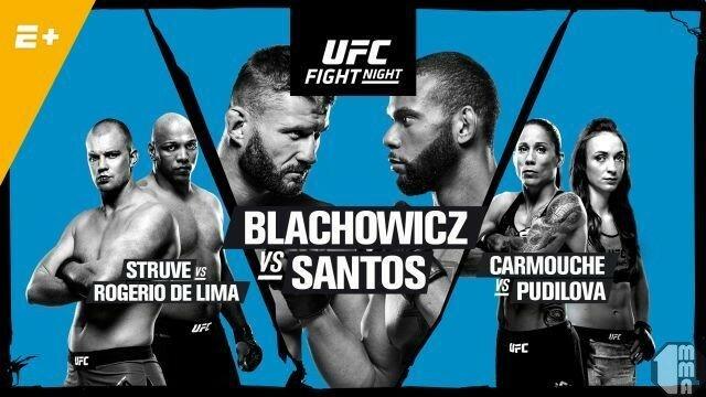 Прямая трансляция UFC Fight Night 145