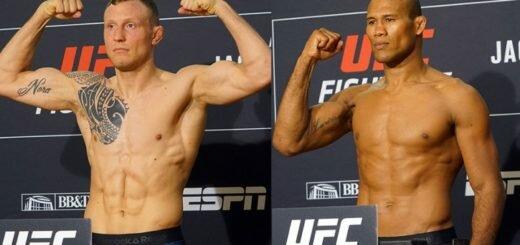 Результаты взвешивания UFC on ESPN 3
