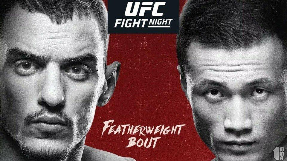 Трансляция UFC on ESPN+ 12: Мойкано – Корейский Зомби