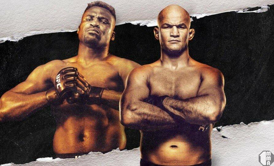 UFC on ESPN 3 Нганну vs. Дос Сантос